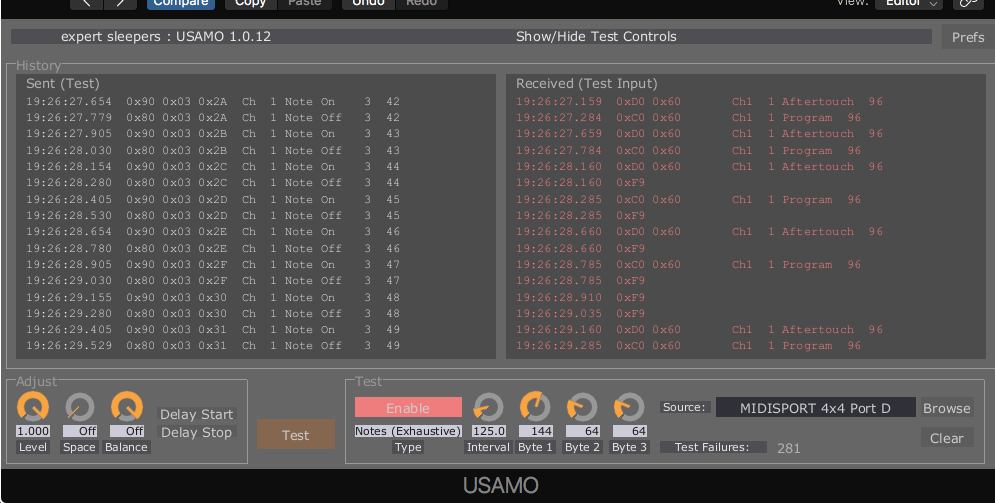 Expert Sleepers USAMO - Universal Sample-Accurate MIDI Output - Page