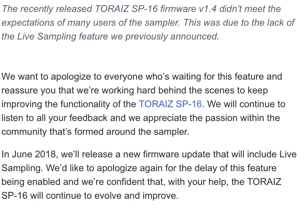Pioneer Toraiz SQUID Sequencer - Page 3 - Gearslutz