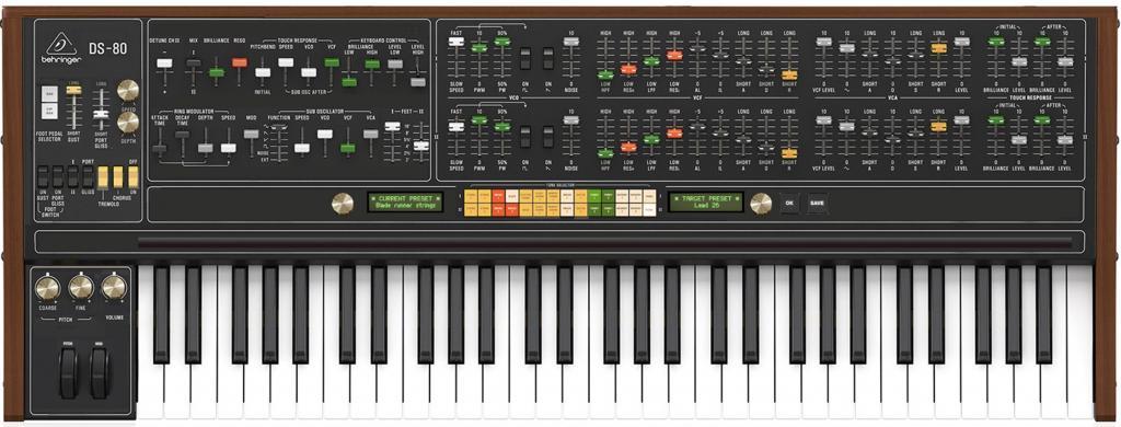 Behringer Yamaha CS 80 clone (DS 80) Speculation Thread