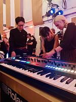 New Roland Synths Launch - Abbey Road, London, 29 August 2019-junichi-miki.jpg