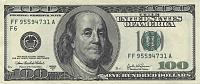 Which is the largest thread on GS-american-us-100-dollar-bill-1024x431.jpg