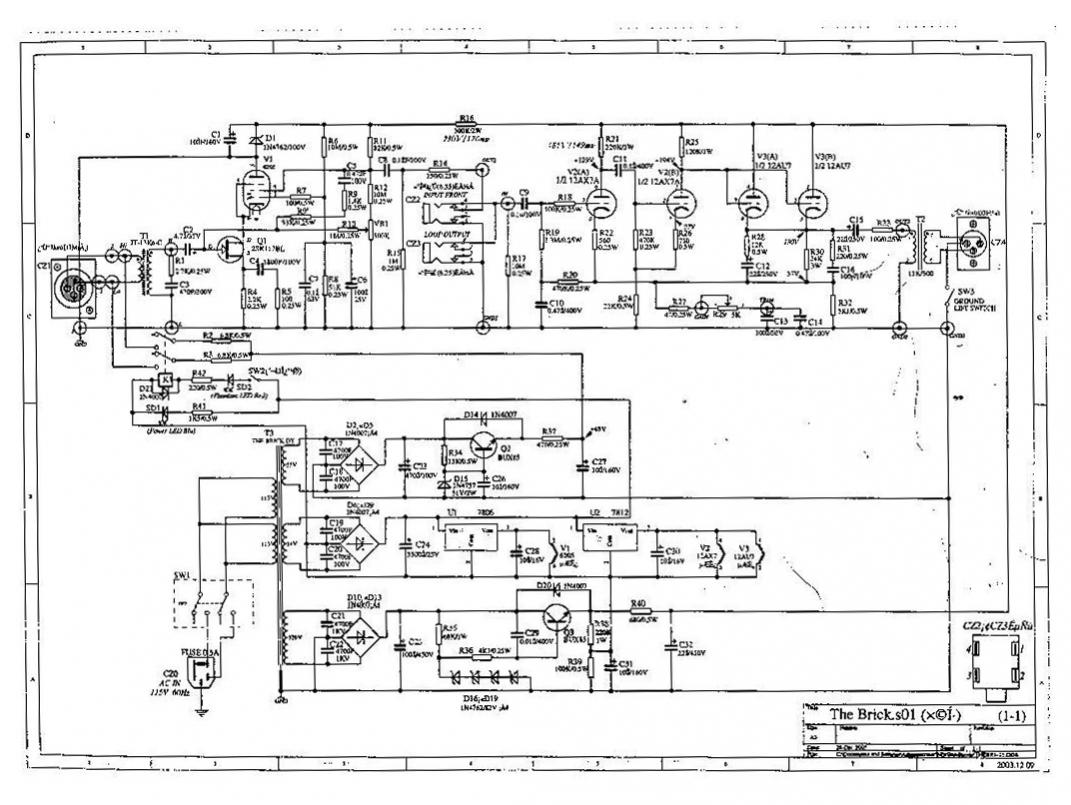 groove tubes brick schematic