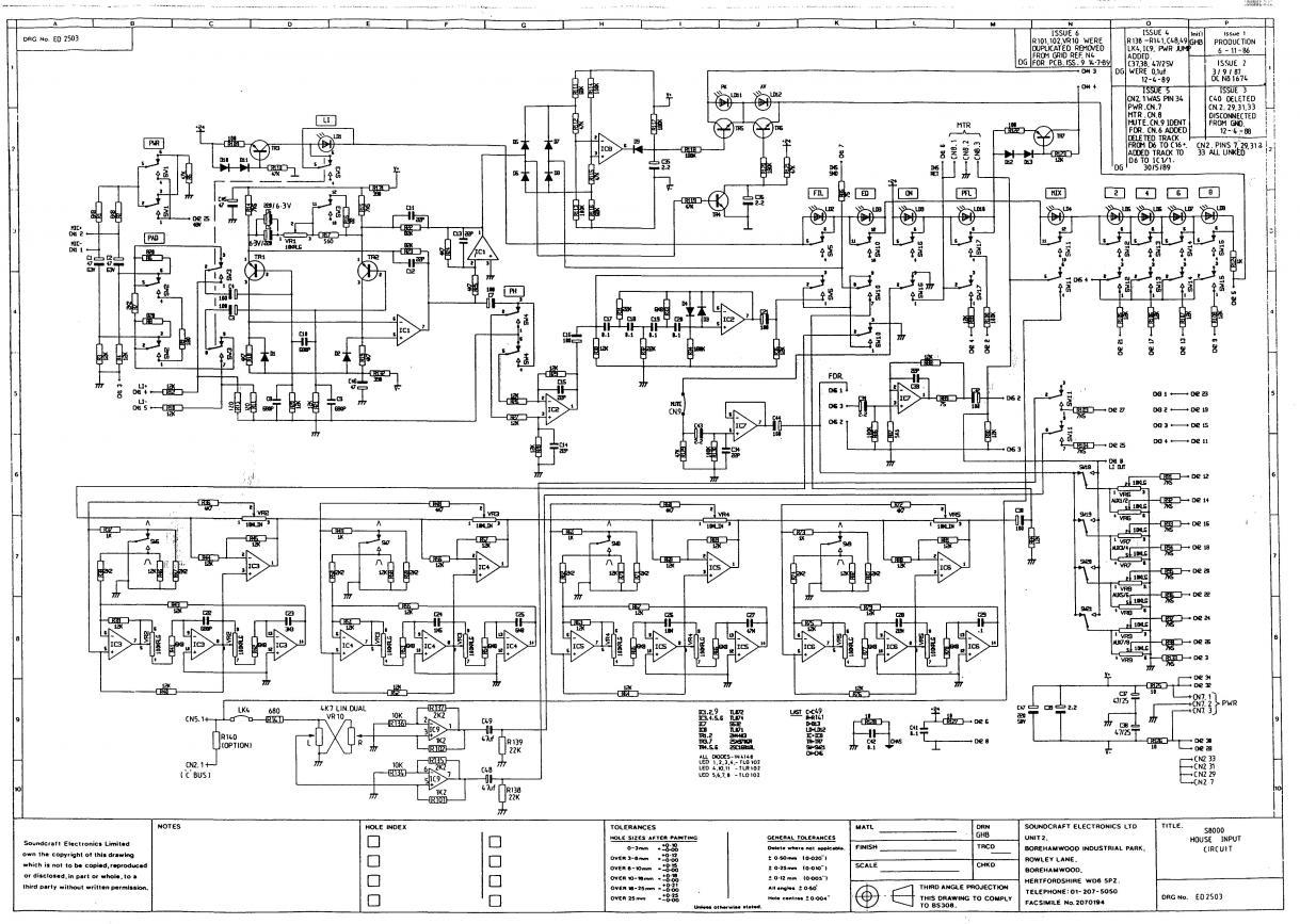 soundcraft 8000 problem