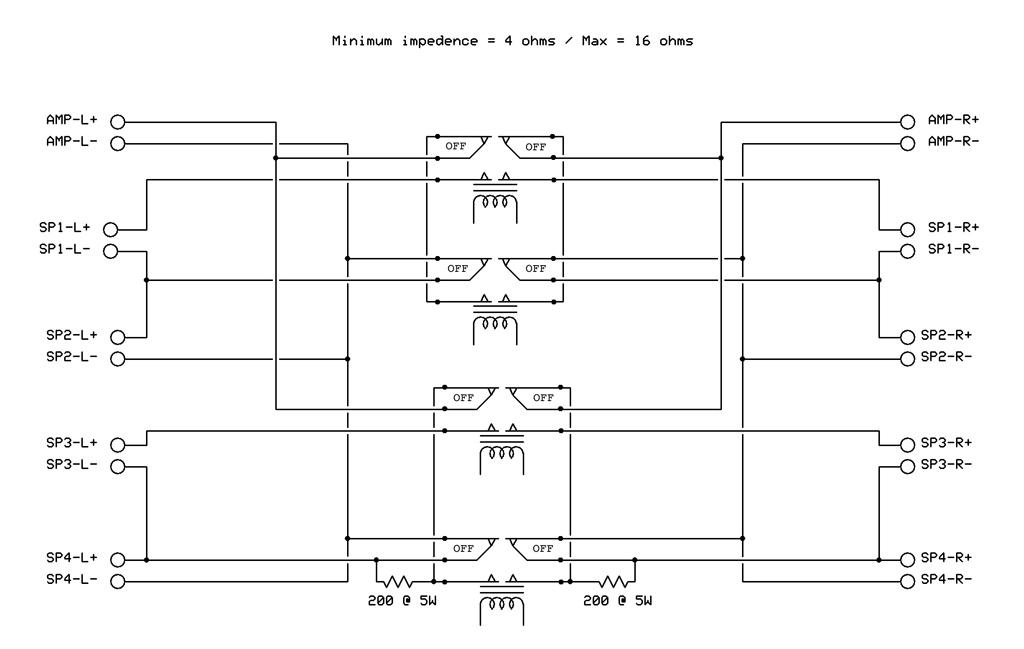 Speaker Switch Schematic - WIRE Center •