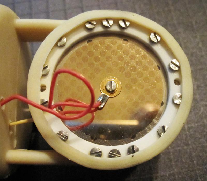 Replacement Repair Restoration Peluso Microphone Labs P-K47 Microphone Capsule
