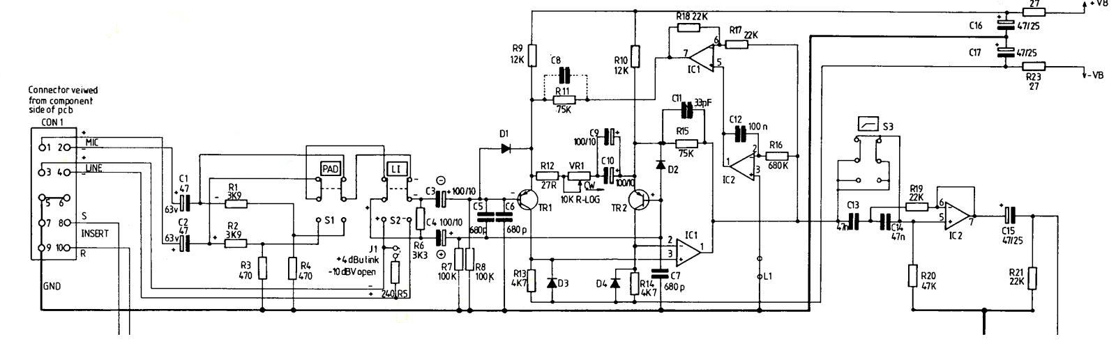 Tl072cp Gearslutz 5532 Ic Mic Preamplifire Circuit 200binput