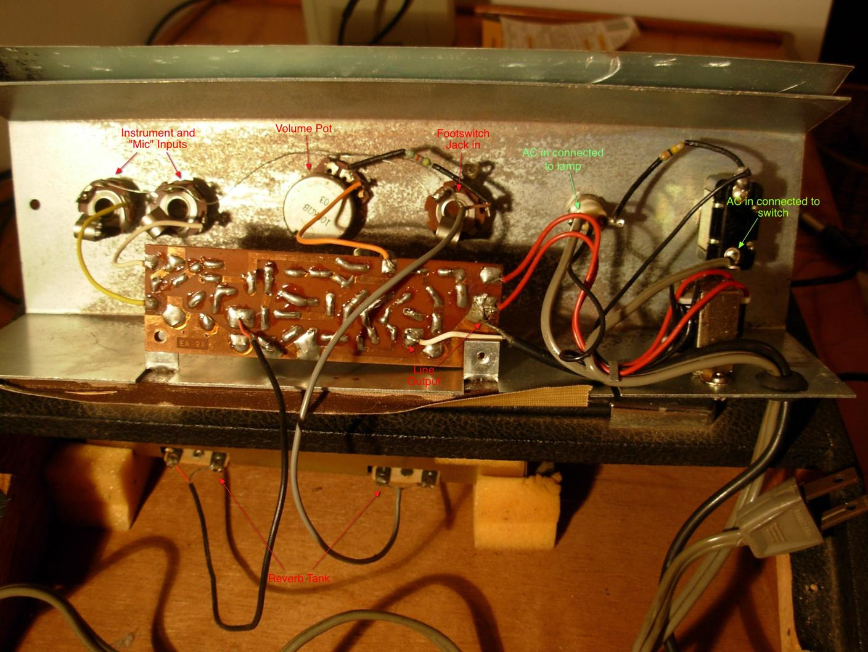 Repairing A Lafayette Echo Verb Ii Newbie Stuff Questions Wiring Diagrams