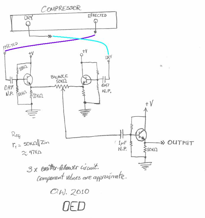 171764d1273264645 wet dry mix knob will schematic work mix_buffer_emitfollower in the case of audio, would it be accurate to think of a Potentiometer Motor Wiring Diagram at n-0.co