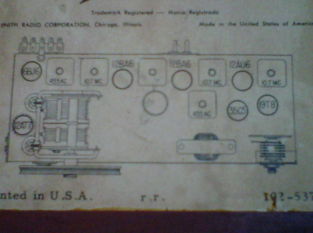 Anyone Ever Turn Old Tube Type Radios Into Something Cool Gearslutz. Img0008820100616 Anyone Ever Turn Old Tube Type Radios Into Something Coolimg0009120100616. Wiring. Zenith Radio Schematics Model C730 At Scoala.co
