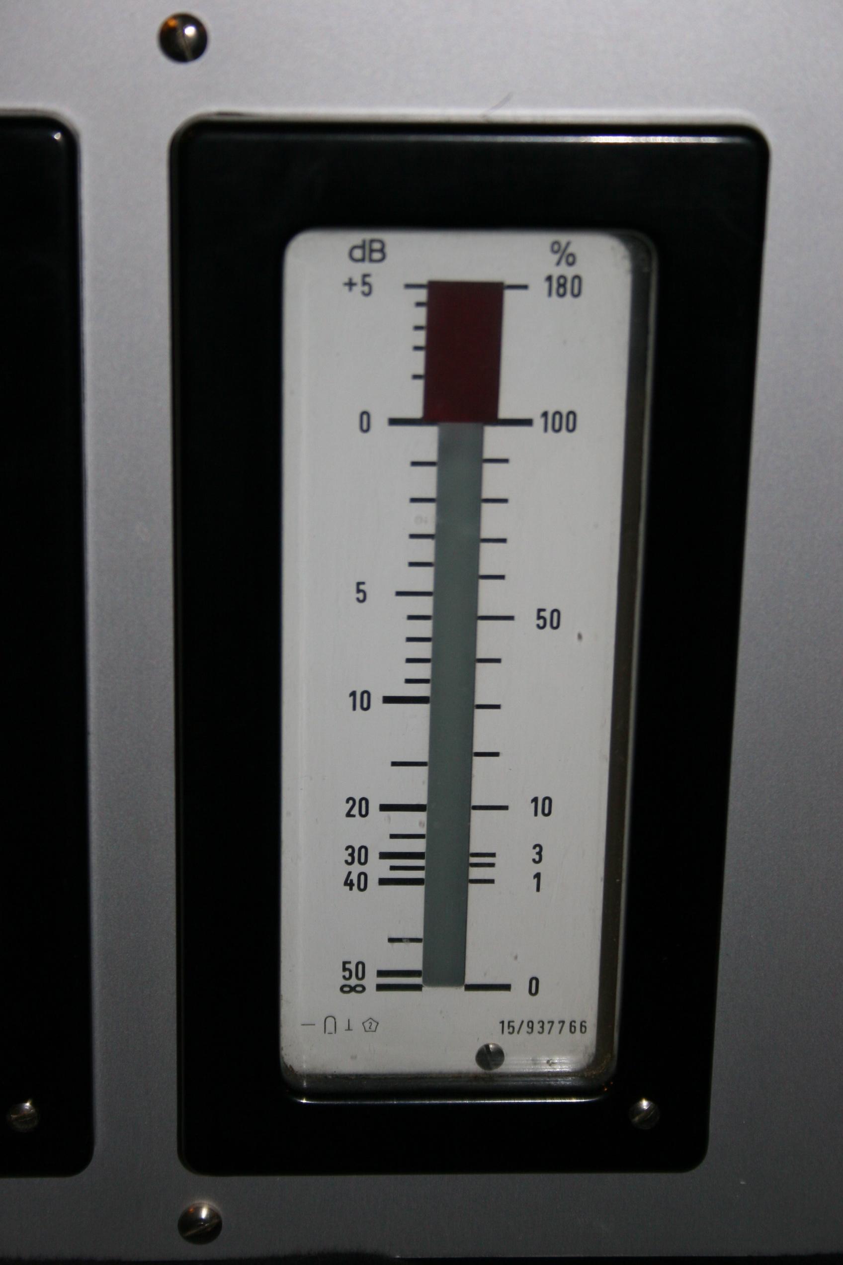 Telefunken Tab Cathode Ray Tube Vu Meters Gearslutz Meter 1