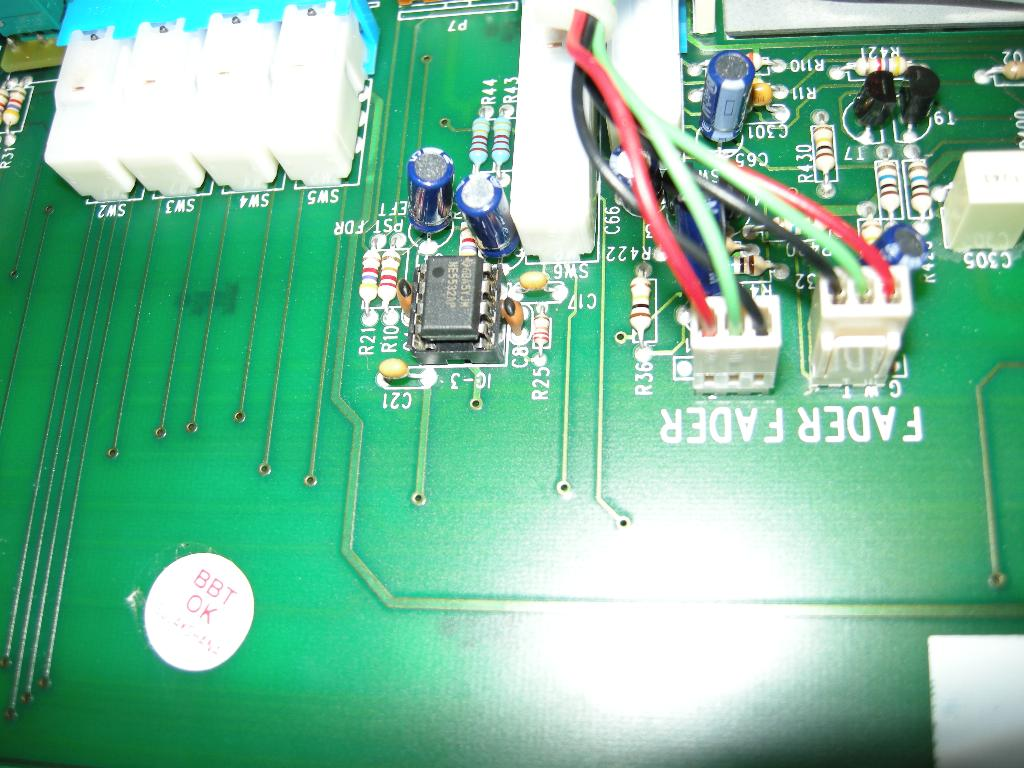 Upgrading Op Amps In Orion X Console Gearslutz 5532 Ic Mic Preamplifire Circuit Tn Dscn4384
