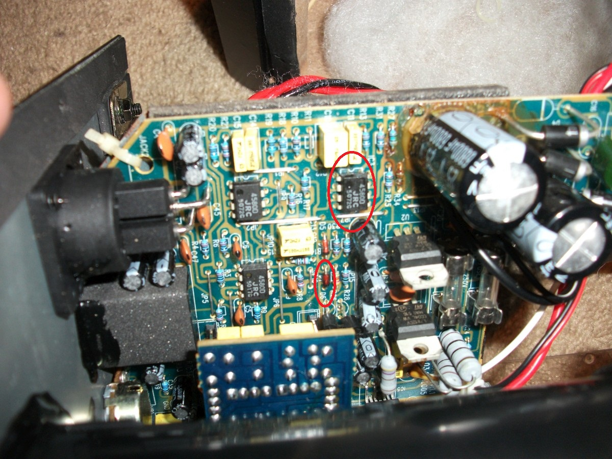 smoking maudio bxa  capacitor blown?  gearslutz pro audio, wiring diagram