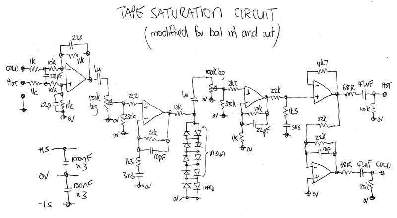 Audio Compressor Circuit With Tda1054