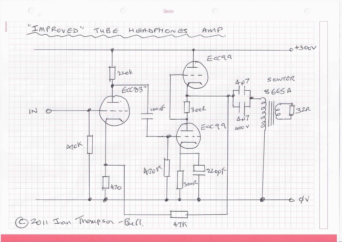 Improved Tube Headphone Amp - Gearslutz