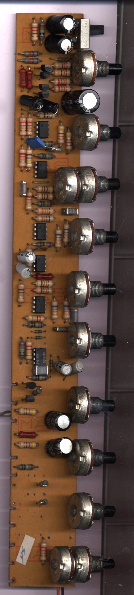 Mixing Desk with 741 and 742 opamps - Gearslutz