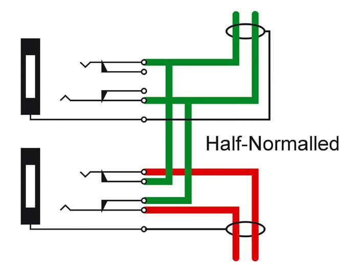 half normalling solder tt patchbay  help