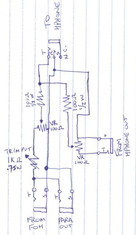 Diy headphone tap gearslutz for Yamaha motif xs8 specs