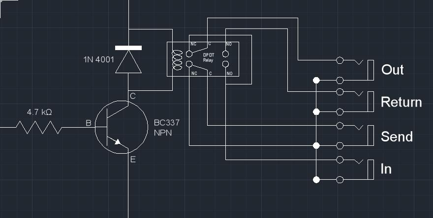 DPDT Relay True Bypass Looper Gearslutz Pro Audio Community - Dpdt Relay True Bypass