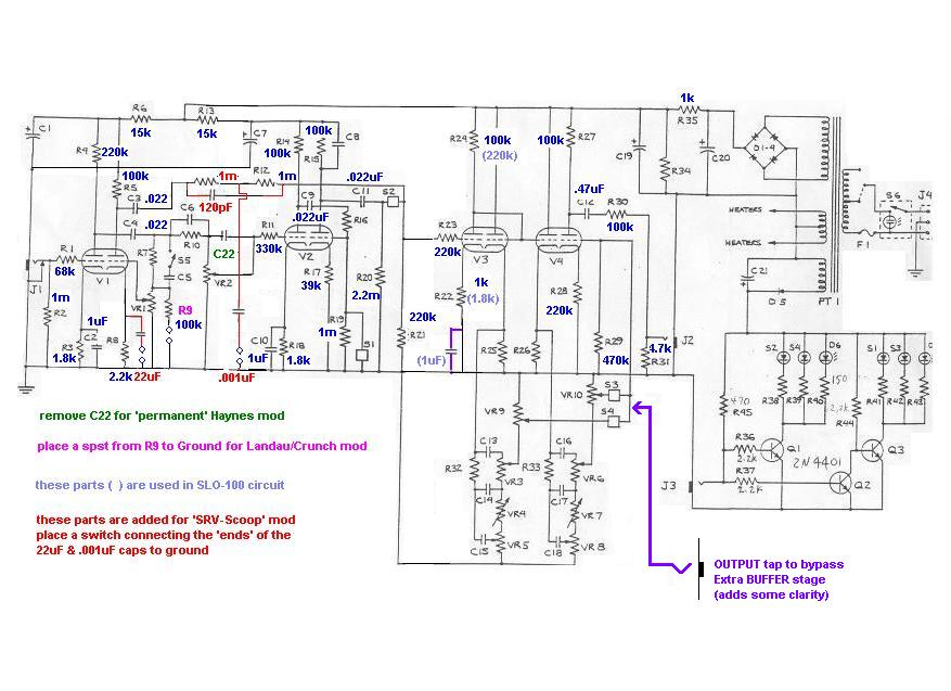 moreover Distortion 20Boost 20and 20Overdrive further DHViZS1ib29zdC1wZWRhbC1zY2hlbWF0aWM together with 890338 Soldano Sp77 Ii Bright Switch Drive Channel furthermore 6550. on tube distortion schematics