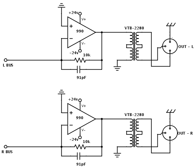 need some help with summing amp circuit