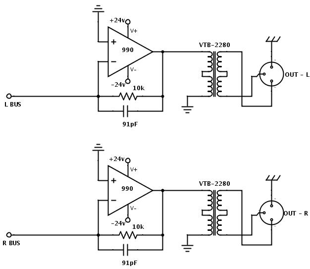 passive audio mixer diagrams html
