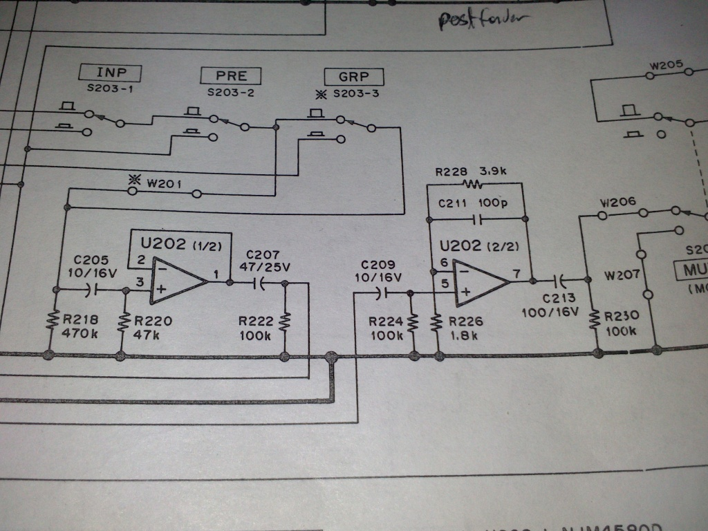 Op Amp Negative Feedback Gearslutz Possibly Related To Quotopamp Application Unity Gain Bufferquot Circuits Dsc 0839