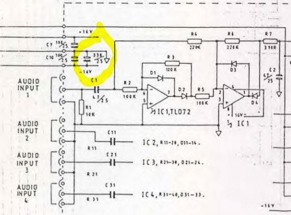 allen amp schematics