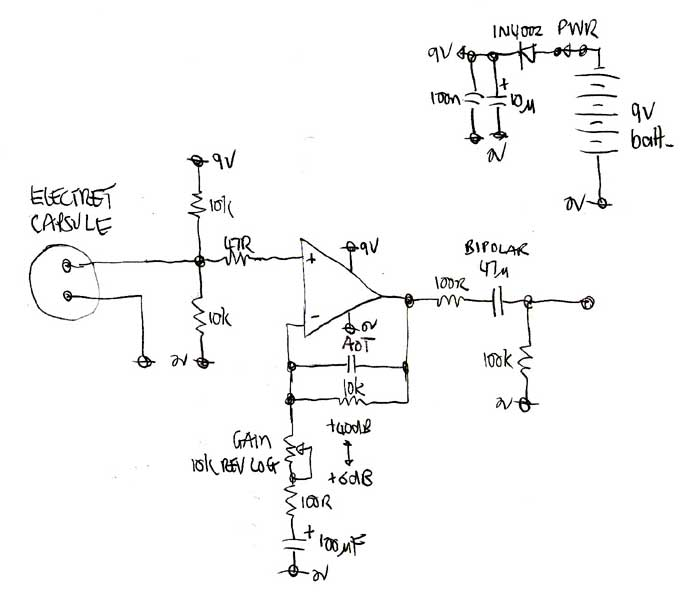 5532 ic mic preamplifire circuit that1510 based preamp for mic with unbalanced output gearslutz  preamp for mic with unbalanced output