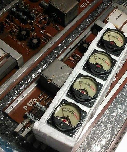 Studio Phase Meter : Old vintage preamps restoration new functions