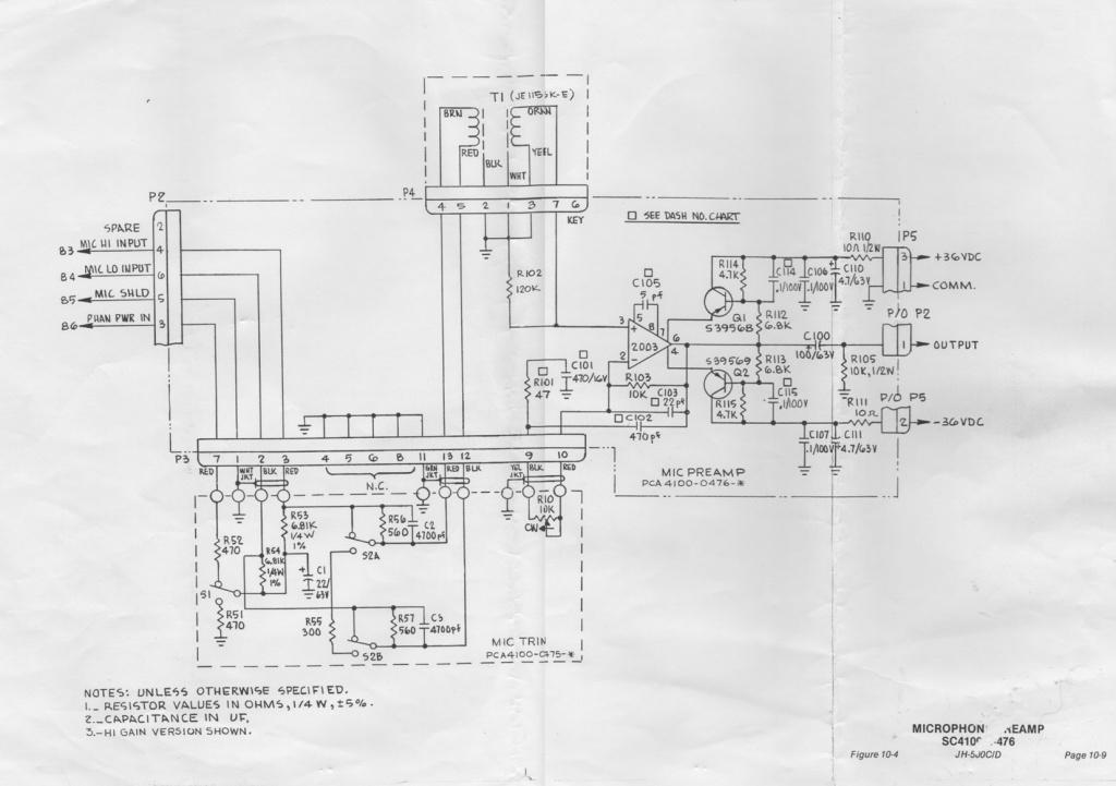 mci wiring schematics mci diy wiring diagrams mci 500d pre amp schematics gearz pro audio community