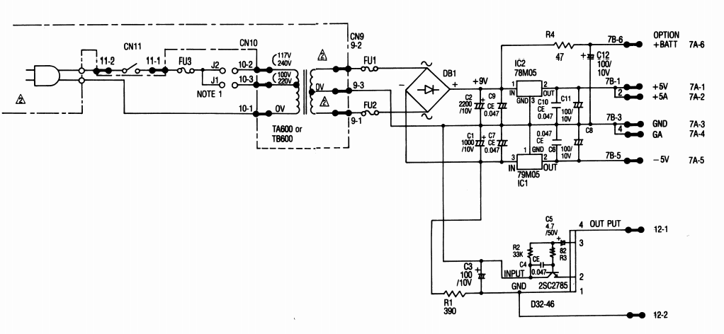 Relace transformer from 100v to 240v. Possible? - Gearz on