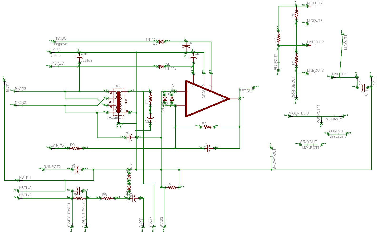 55022d1207875735 someone please take look board schematic test schematic someone please take a look at this board schematic gearslutz KRK Rokit 8 at bayanpartner.co