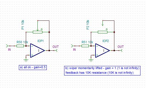 variable resitor in op amp feedback loop? page 2 gearslutzvariable resitor in op amp feedback loop? pot_in_feedback_loop png