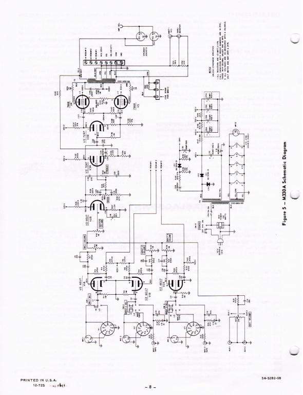 basic elec circuit question re bogen m330a