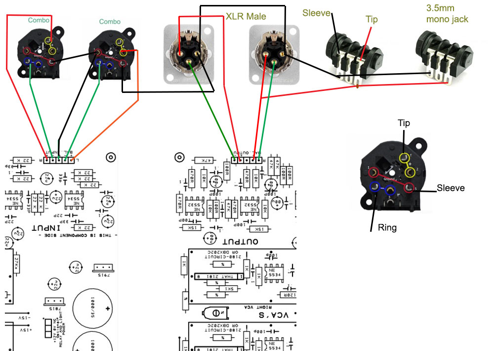 Combo Xlr Jack Wiring - share circuit diagrams on