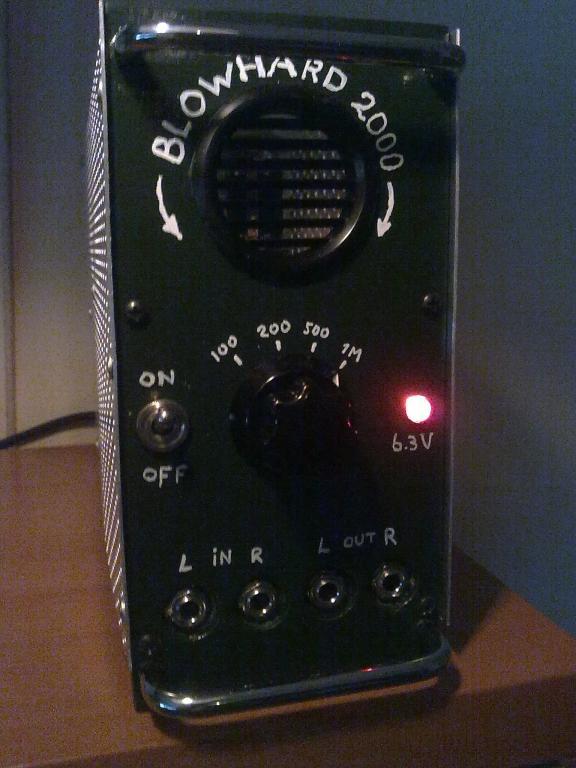 Tube impedance buffer stage - Gearslutz