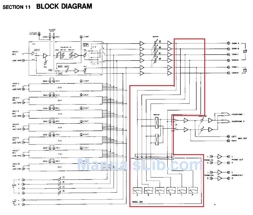 Fostex Meter Bridge 3060 Schematics - Gearz on