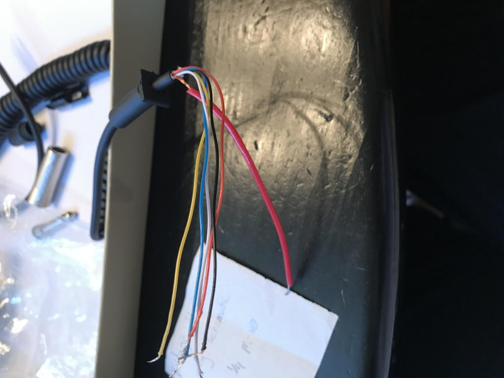 ... How to wire a cb/audio microphone cord for a vintage 4-pin female