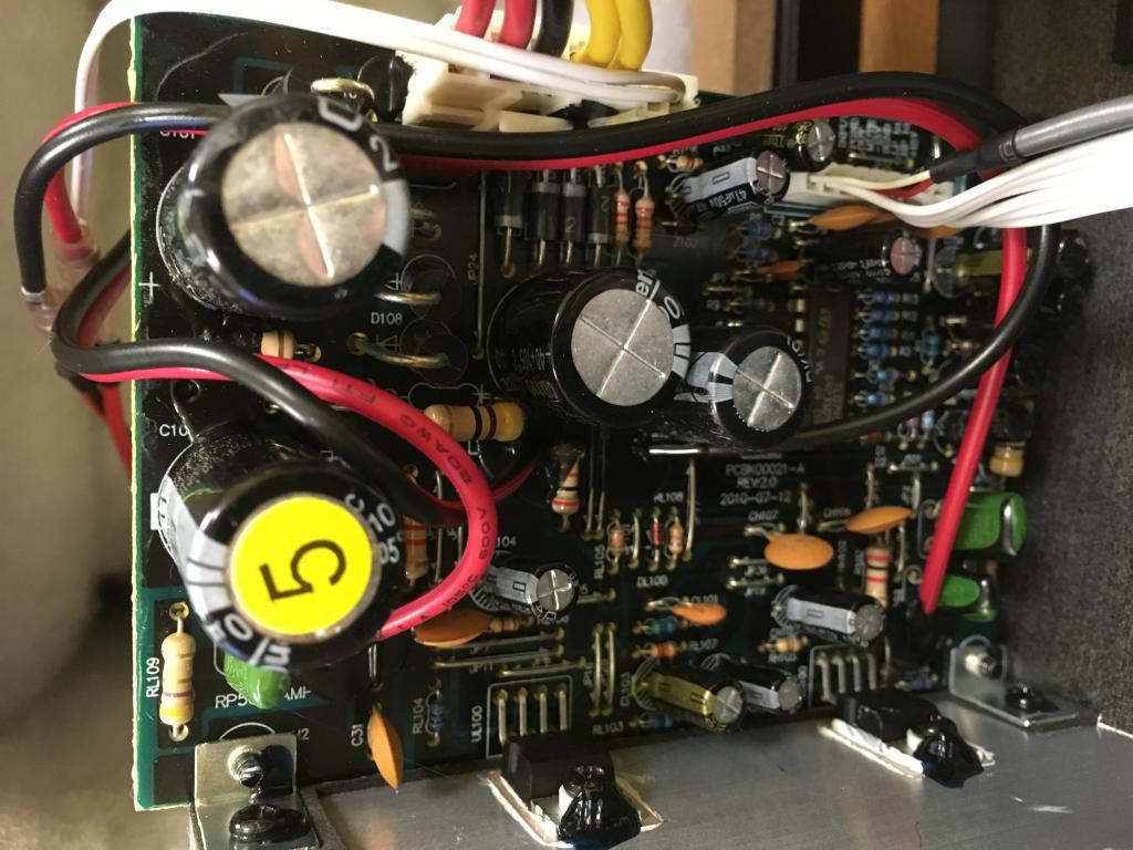 Shade Tree Repair Guide Fixing The Crackling Static In Krk Rokit How To A Broken Printed Circuit Board Thumbnail Peakers