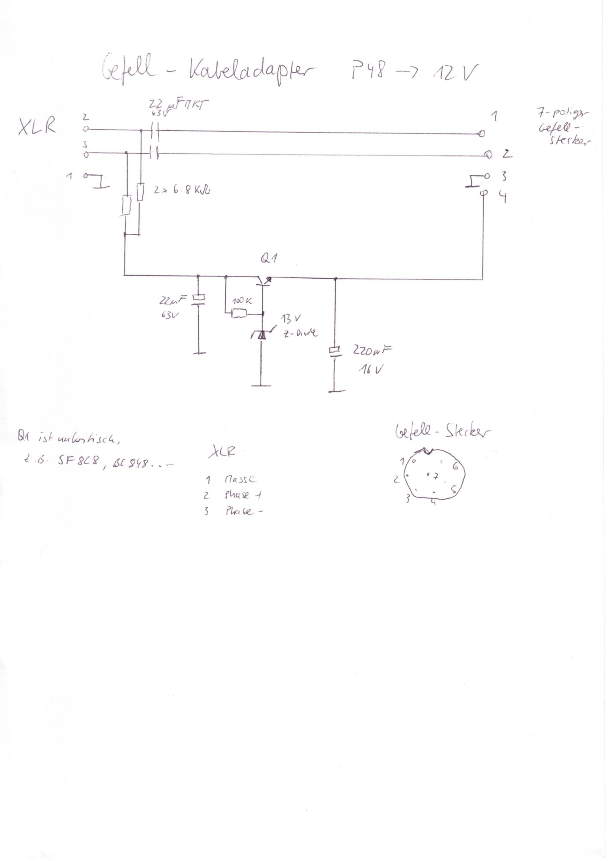 Gefell PM860 and PM750 48V phantom - Gearslutz