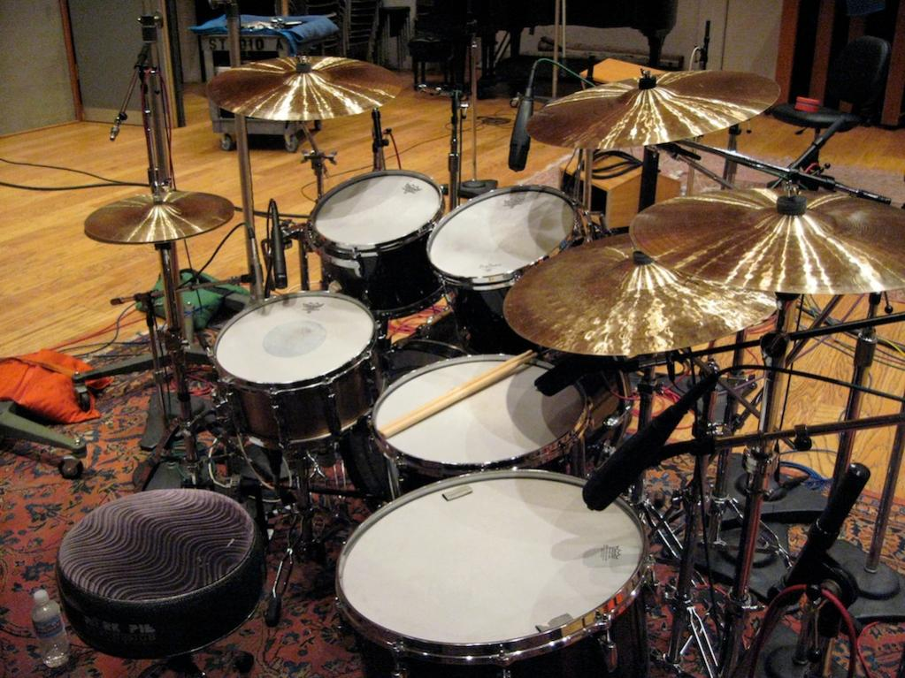 Pictures Of Mic Ed Up Drum Kits In The Studio Page 59