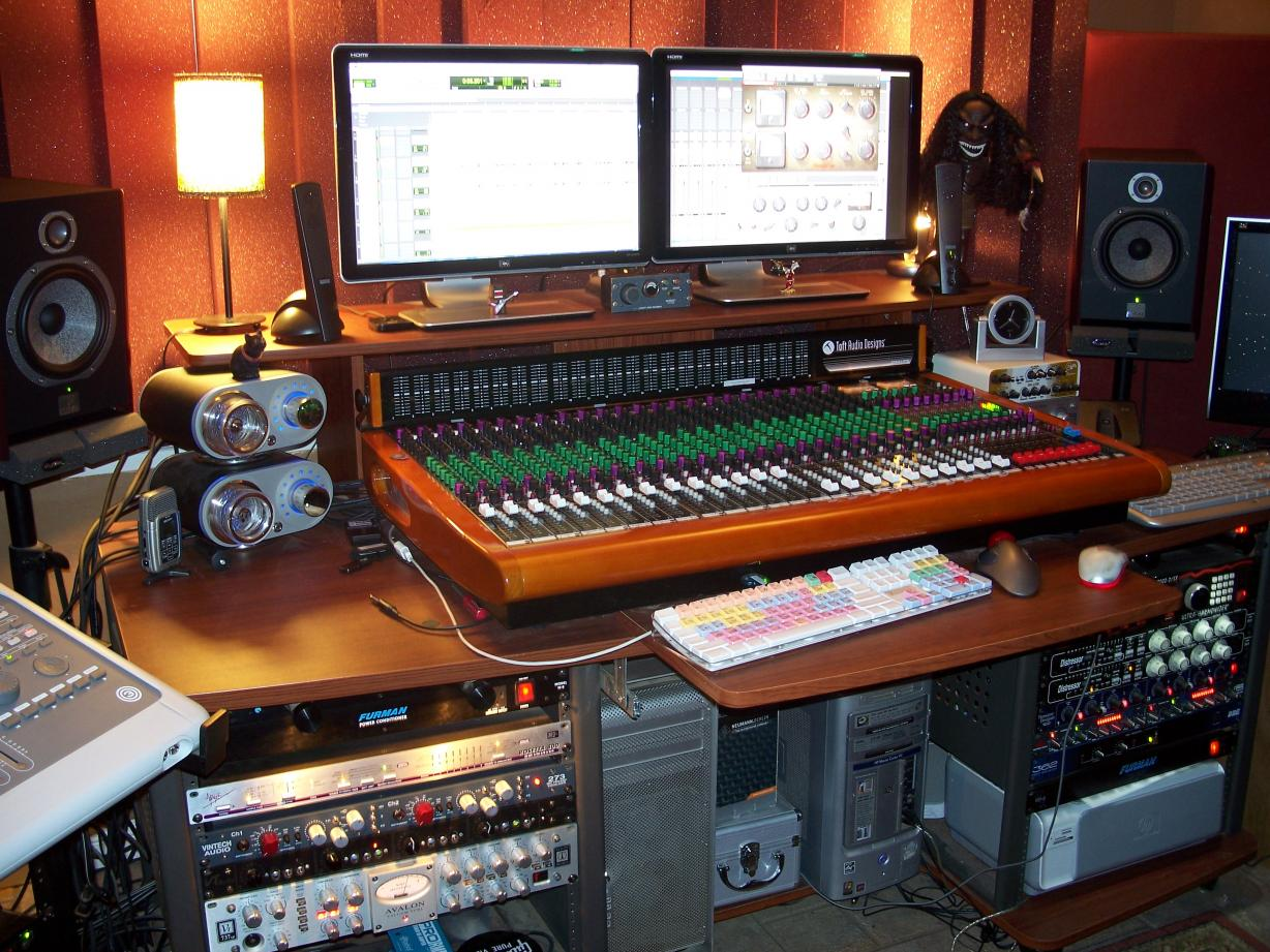 Post pics of your home studios page 11 gearslutz pro audio community - Home studio ...