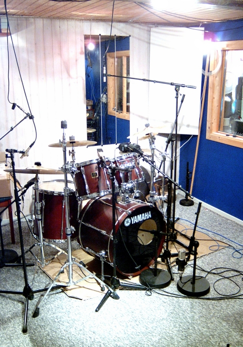 Pictures Of Mic Ed Up Drum Kits In The Studio Page 5