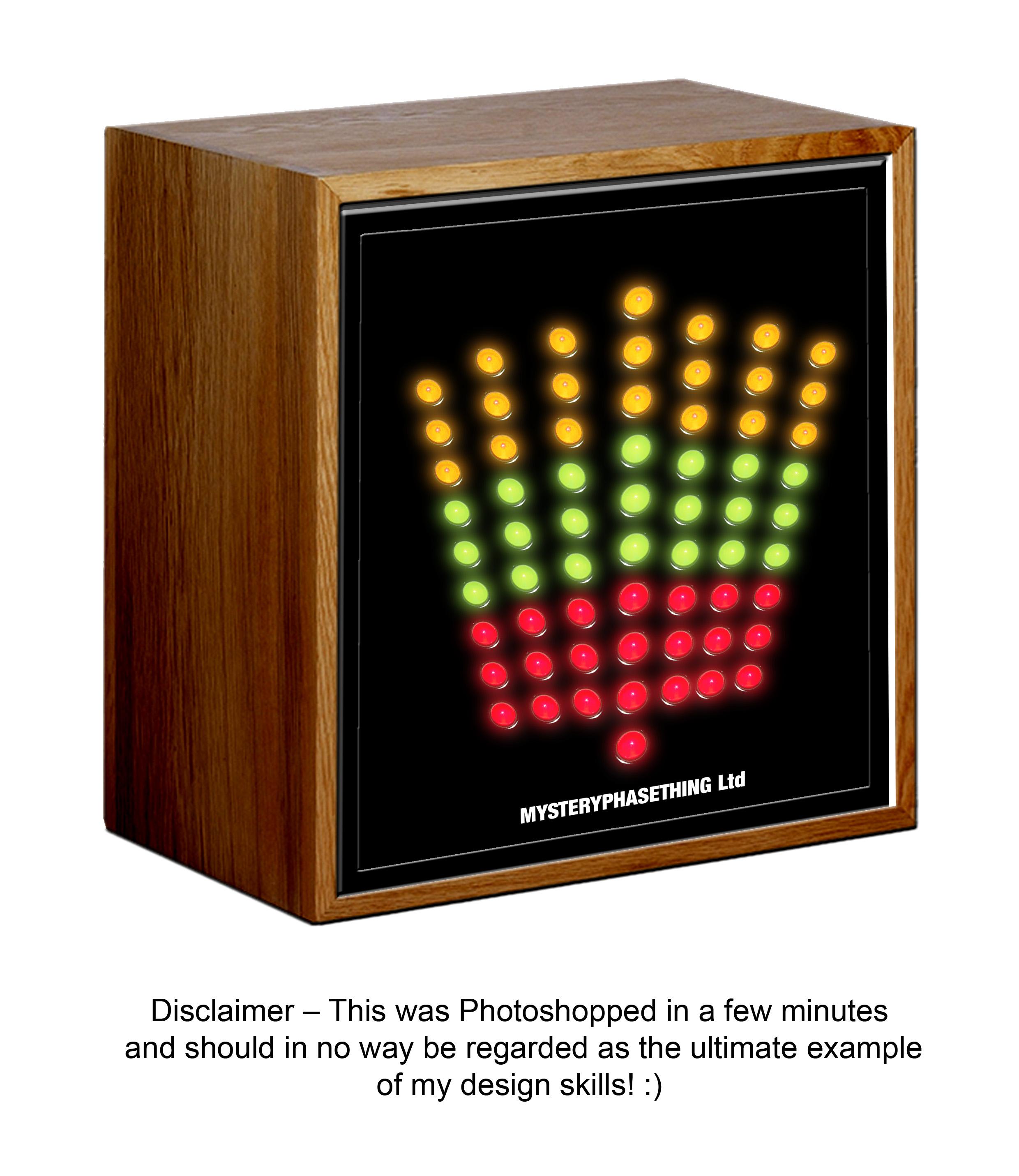 Studio Phase Meter : Any veterans remember a led phase meter box