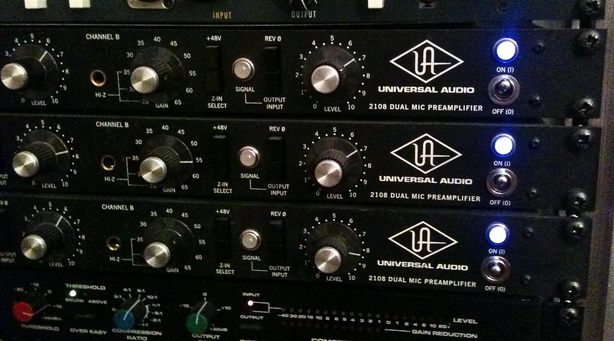 UA 1108 - What does it sound like? - Gearslutz