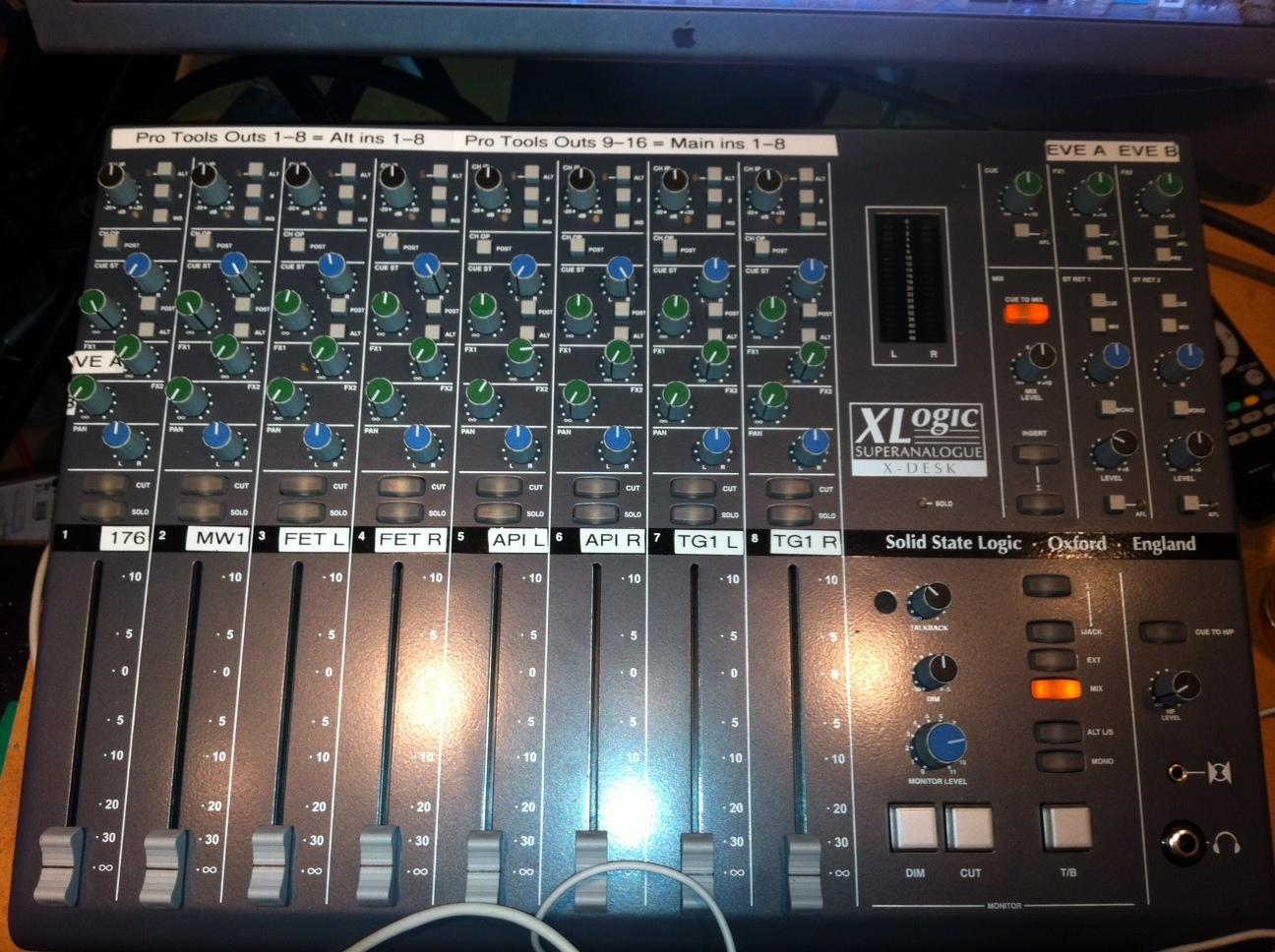 Ssl Xdesk Patchbay Users Help Gearslutz Portable Live Sound Setup Pro Audio Community