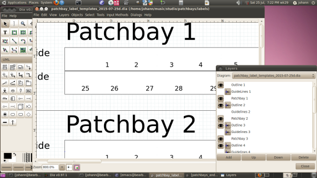 Patchbay Labeling (Excel? - Page 3 - Gearslutz Pro Audio Community