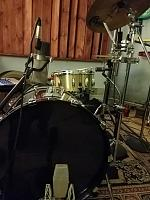 Pictures Of Mic'ed Up Drum Kits In The Studio-knee-mic.jpg