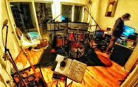 Pictures Of Mic'ed Up Drum Kits In The Studio-09-view-kitchen-area-looking-into-drum-bass-world..jpg