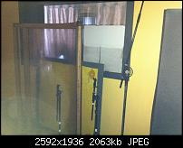 Our studios were completely destroyed by Sandy-water-line-live-room.jpg